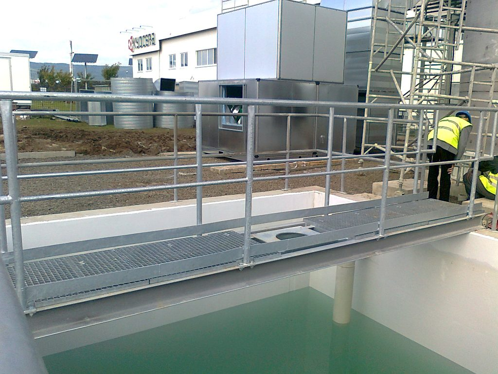 Treatment of Wastewater for VOC and BOD, Czech Republic