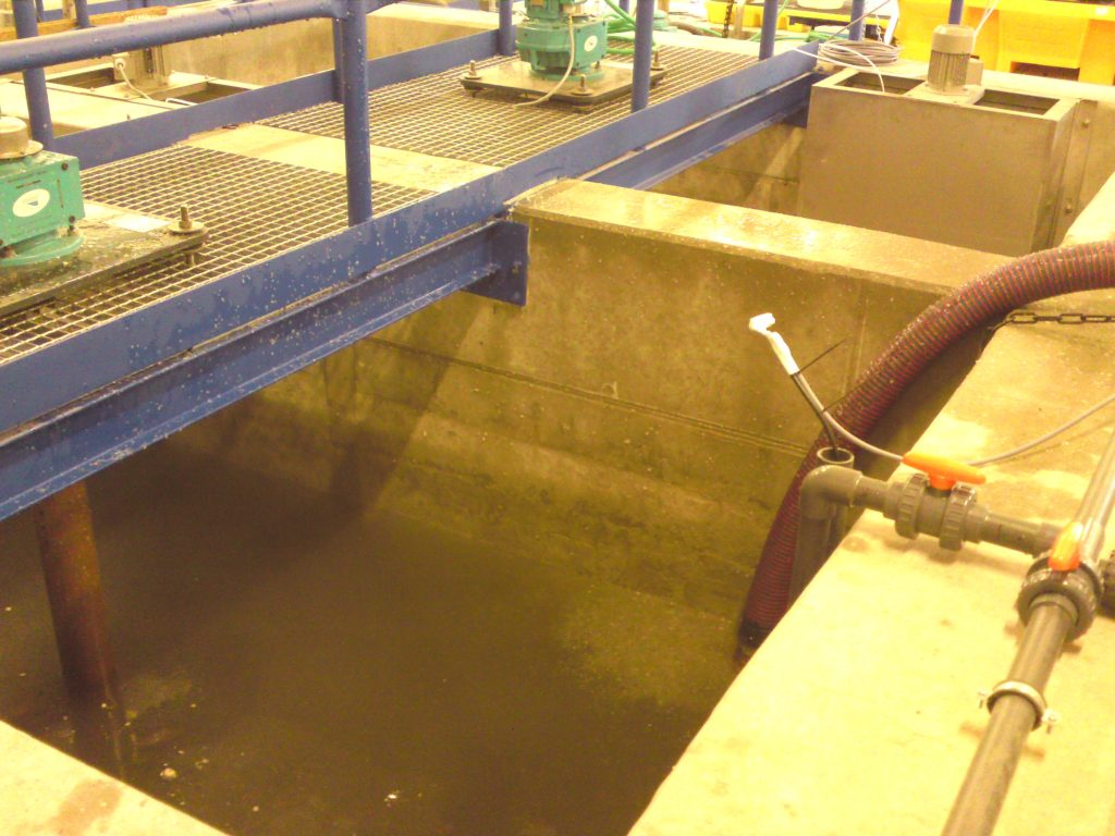 Tertiary Nitrate Treatment at a WWTP, Czech Republic