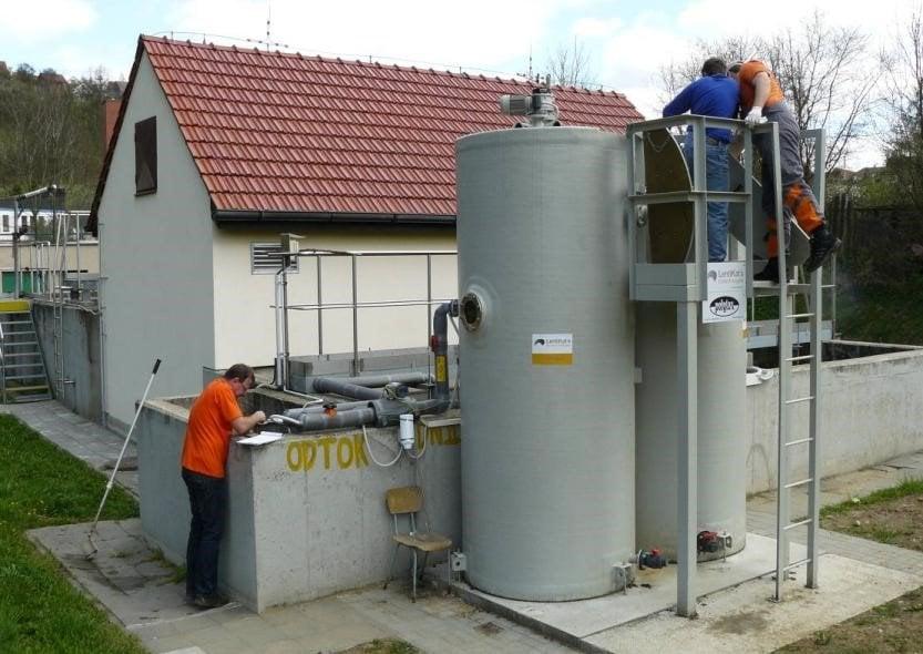 Post-Denitrification at a WWTP, Czech Republic