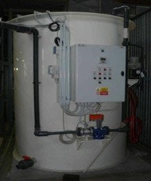 Treatment of Machining Wastewater for Nitrates, Czech Republic